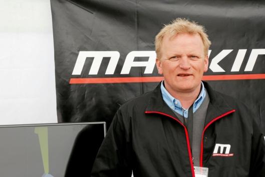NY SALGSSJEF: Morten Wernberg blir ny salgssjef i Hesselberg Maskin AS. Han kommer fra selskapet Maskinstyring AS som utviklet maskinstyringssystemet Makin. Foto: Klaus Eriksen