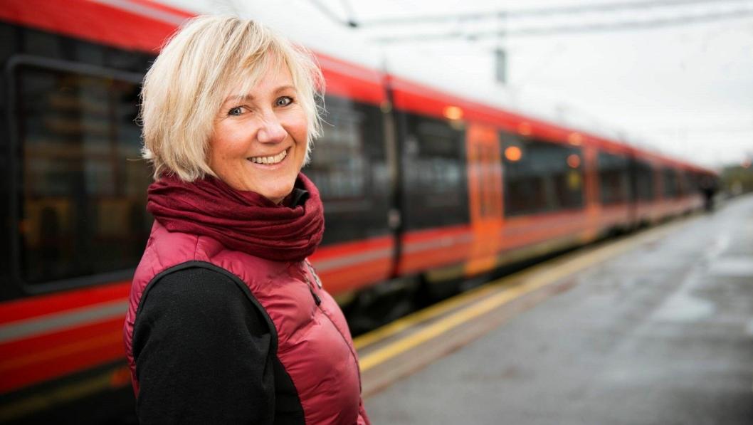 Stine Undrum, ny utbyggingsdirektør i Bane Nor.