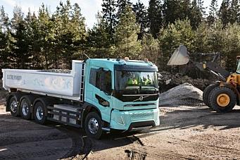 Elektrisk anleggsbil fra Volvo