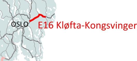Konkurranse om E16 Kløfta - Kongsvinger-jobb