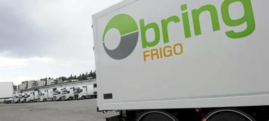 Nor-log Gruppen kjøper Bring Frigo AS
