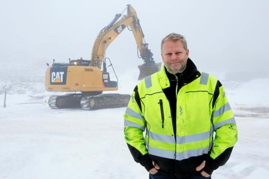 Prosjektleder Kai Nordhagen skulle ønsket at utstyret kunne spores.