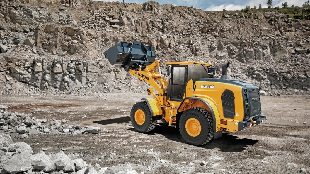 TESTING: HL940A er på 13 tonn og er klar for Europa etter å ha gått i omfattende testing