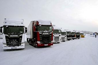Scania Winter for 10. gang