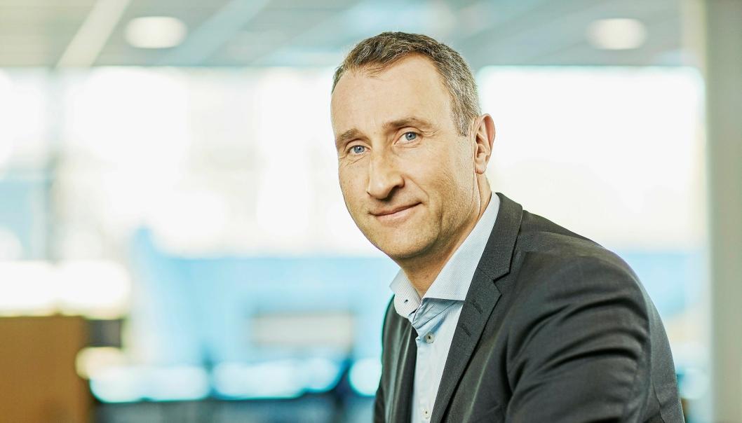 AMBISJONER: Konsernsjef Ståle Rød i Skanska vil ivareta posisjonen som entreprenør og produktutvikler på grønt miljø.