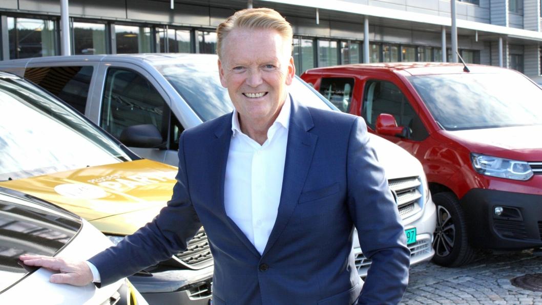- Vi var størst på varebil i 2018 og tar samme posisjon også i 2019, det er vi veldig fornøyde med, sier Bjørn Maarud, konsernsjef i Bertel O. Steen.