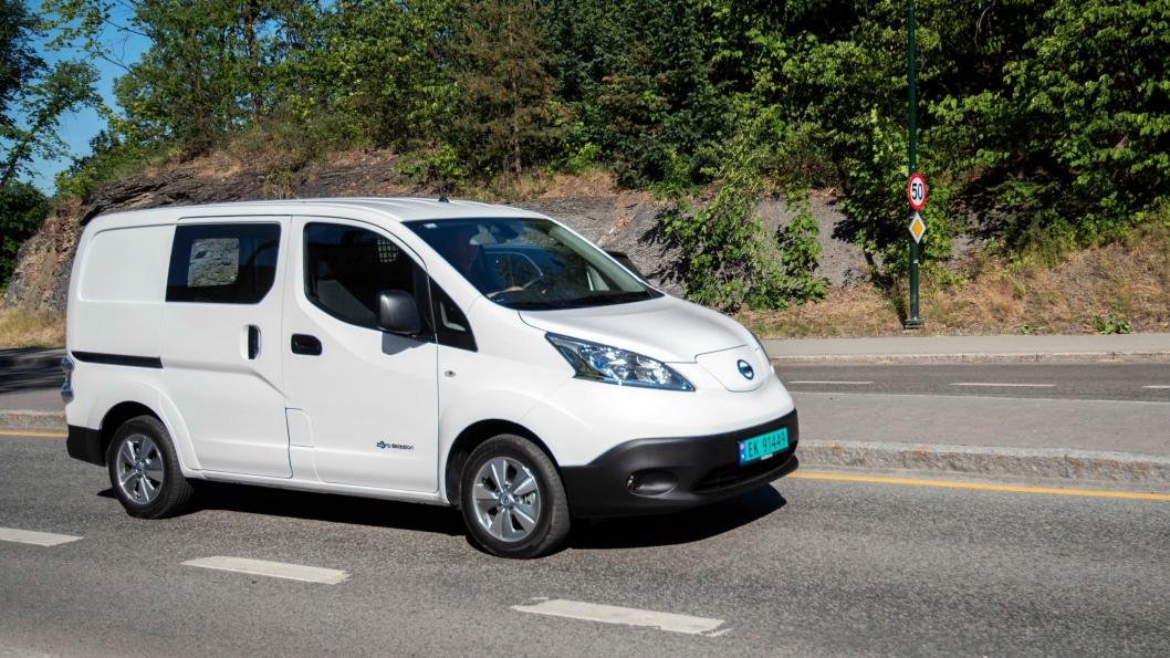 Nissan e-NV200 Evalia.
