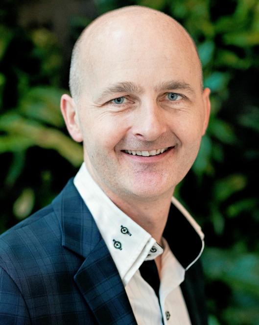 Morten Stray Floberghagen, direktør jernbaneeiendom i Bane Nor Eiendom.