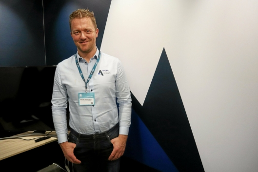 DAGLIG LEDER: Kjell Vidar Hamre i Agder Tunnelservice AS vil forberede for produksjon i Flekkefjord.