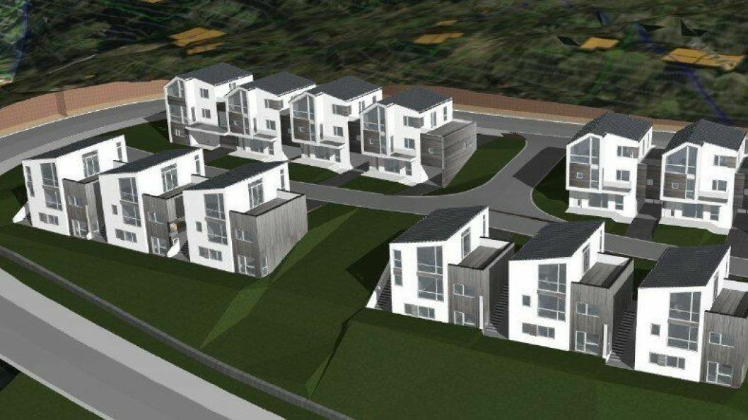 Consto Anlegg Nord skal utføre grunnarbeider ved Skipnes sitt nye boligprosjekt i Oksebakken på Bremnes i Bodø.