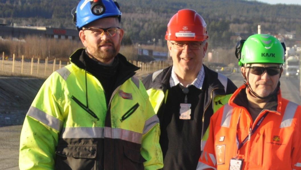 Senkt farten for din og vår skyld, sier Anders Kristian Asdal, Ottar Bjørnstad og Eugen Myhr.