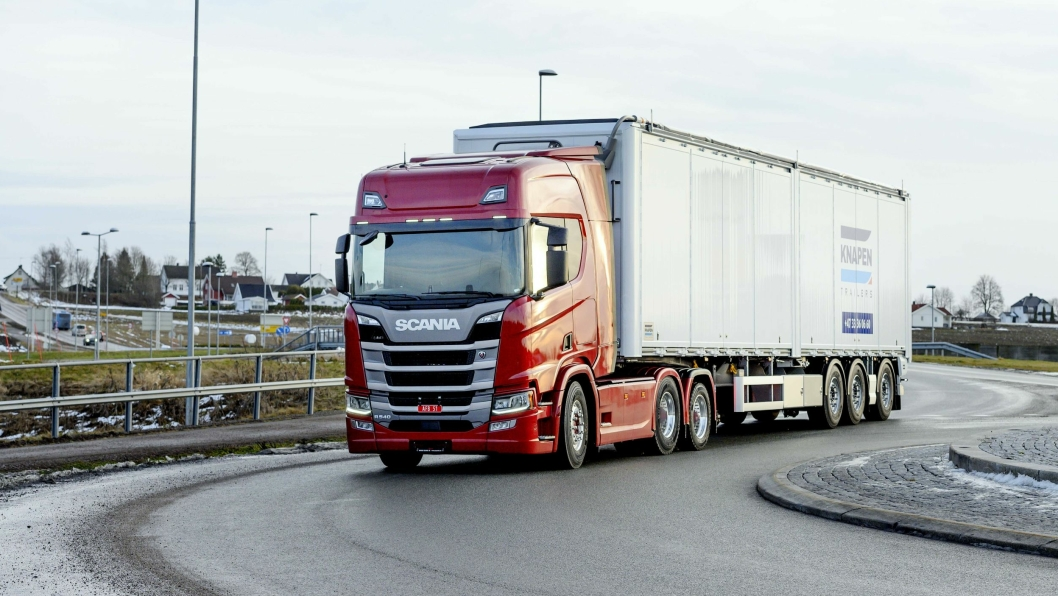 KNOCKOUT: Scania slo knockout på alle sine konkurrenter i 2019. 2398 nyregistrerte lastebiler har ingen merke hatt på ett år tidligere.
