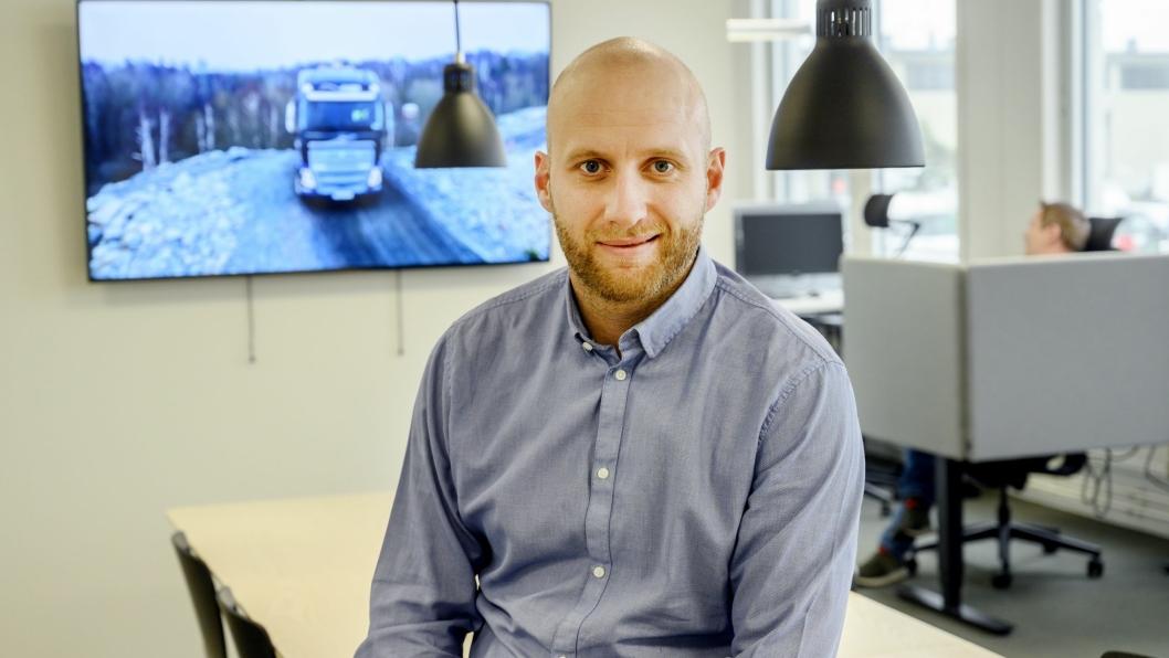 Karstein Ahlin - fungerende adm. direktør i Volvo Norge.