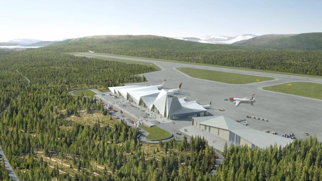 Peab Anlegg er tildelt bygging av ny lufthavn i Mo i Rana i Nordland, med Hæhre Entreprenør som underentreprenør.