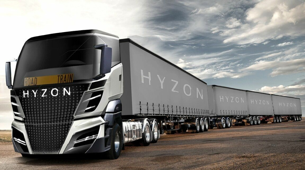 Lastebilene skal lanseres «Worldwide». Kombinasjonen på denne illustrasjonen er beregnet på Australia etter oppsettet å dømme. Selskapet skal imidlertid samarbeide med en anerkjent europeisk produsent opplyser de.