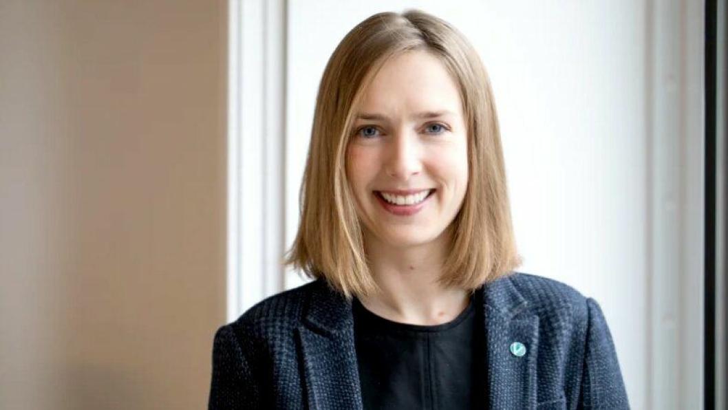 Iselin Nybø (V) er ny næringsminister. Hun overtok stafettpinnen i Næringsdepartementet etter Torbjørn Røe Isaksen. Hun kommer fra stillingen som statsråd for forskning og høyere utdanning.