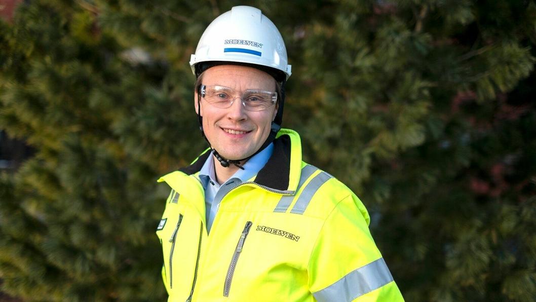Lars Storslett får hovedansvaret for virkesforsyningen, fiberomsetningen og utviklingen av bioenergi for hele Moelven-konsernet.