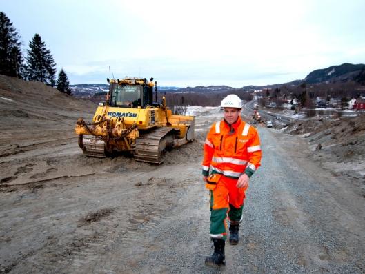 Peab er den første i Norge til å ta i bruk Powel Constructions nye maskinstyringsløsning.
