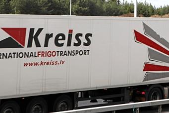 Kreiss får kjøre kabotasje-oppdrag i Norge igjen
