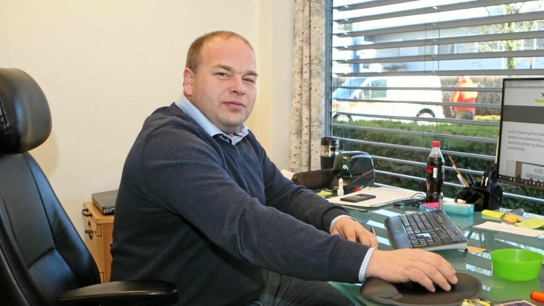 Daglig leder Kai V. Berg i Norsk Trafikksikring AS er valgt til styreleder i Bransjegruppe Arbeidsvarsling.