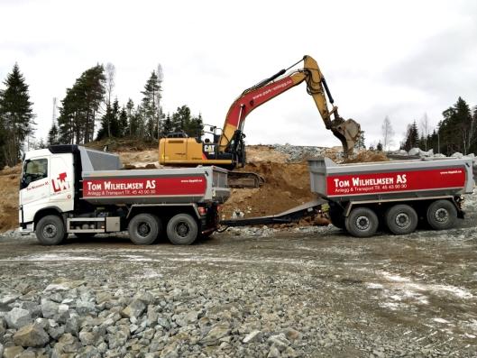 SAMARBEID: Tom Wilhelmsen AS inviterte med Park & Anlegg AS til samarbeid på Follobanen ved Ski stasjon.