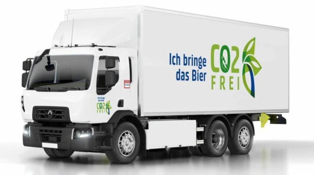 Renault Trucks skal levere 20 stk. Renault D Wide Z.E. til Carlsberg Group, nærmere bestemt bryggeriet Feldschlösschen i Sveits.