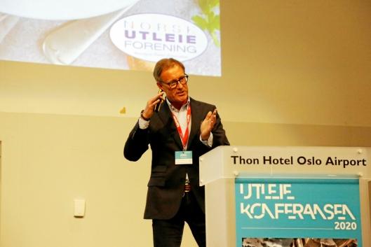 Ny styreleder i Norsk Utleieforening er Fredrik Brandal i Ramirent. Foto: Klaus Eriksen