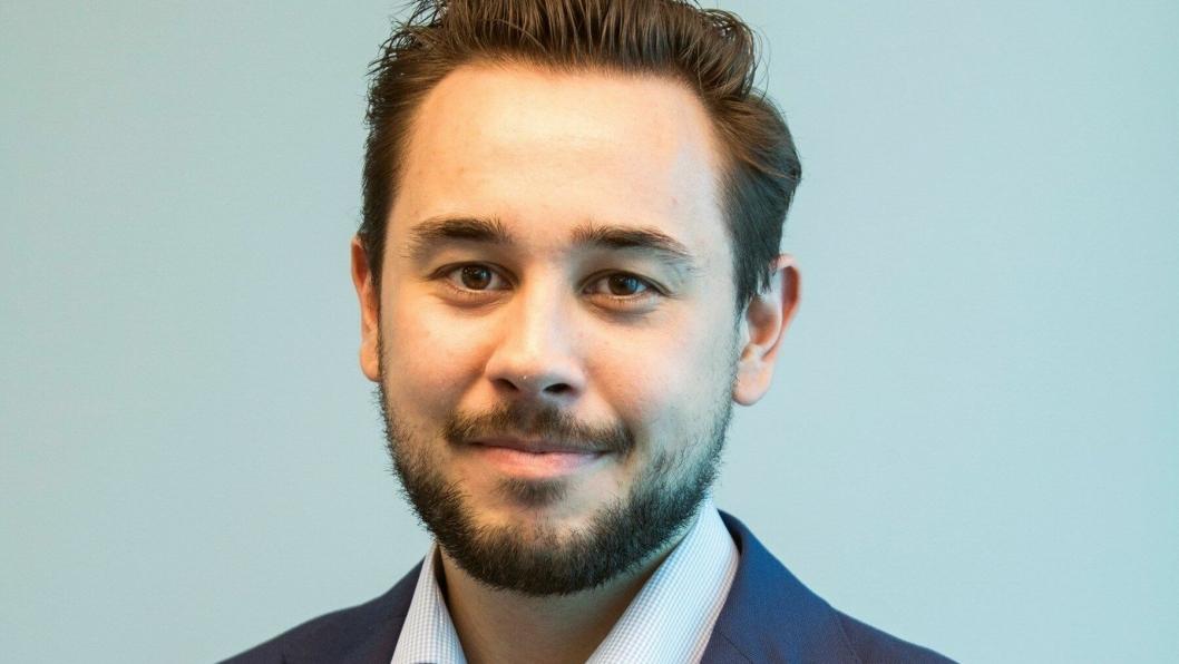 Fredrik Tronhuus blir ny kommunikasjonssjef i MEF.