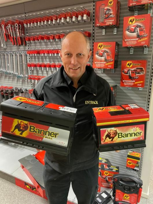 ERFAREN: Per Ole Hveberg er Banner-ansvarlig hos Entrack AS, og har vært det siden 1985.