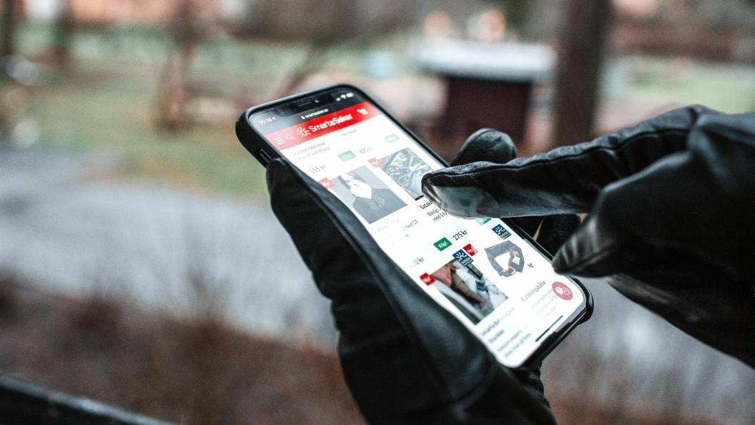Touchlappene kan limes på hansker slik at man kan betjene touchskjerm med hanskene på.