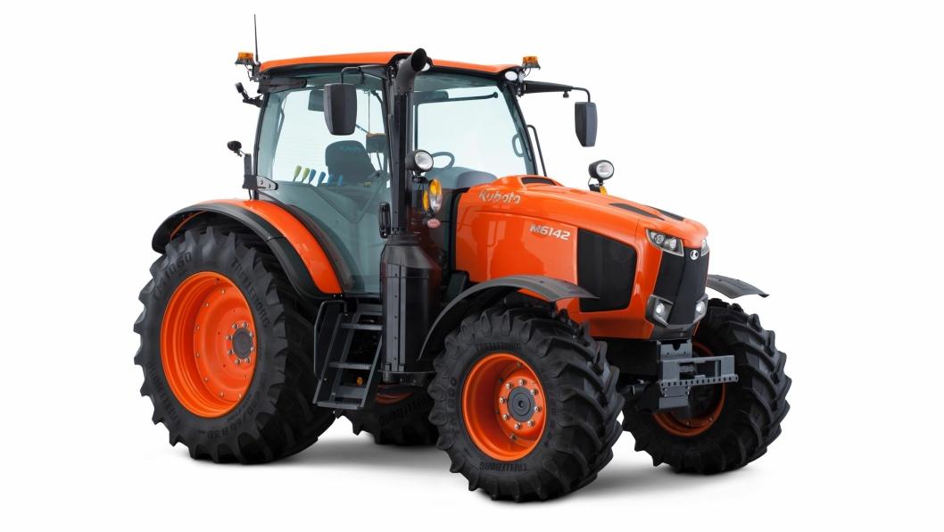 Kubota M6142 er den største traktoren i den nye M6002-serien.