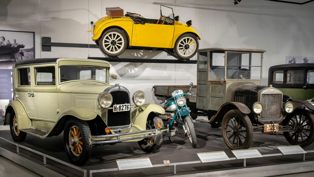 Årsaken til den store økningen besøkende skyldes i stor grad åpning av det nasjonale museet for kjøretøyhistorie ved Norsk Vegmuseum.