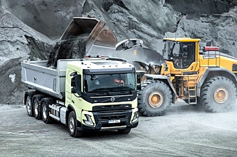 Ny Volvo FMX med helt nytt førerhus
