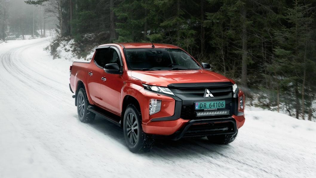 Toppspekket Mitsubishi-pickup, L200 X Edition, selges kun i Norge.