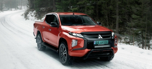 Nye Mitsubishi L200 X Edition i salg nå