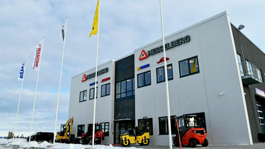 Nybygget er på 1300 kvadratmeter og er så godt som identisk med Hesselbergs tilsvarende bygg i Stavanger