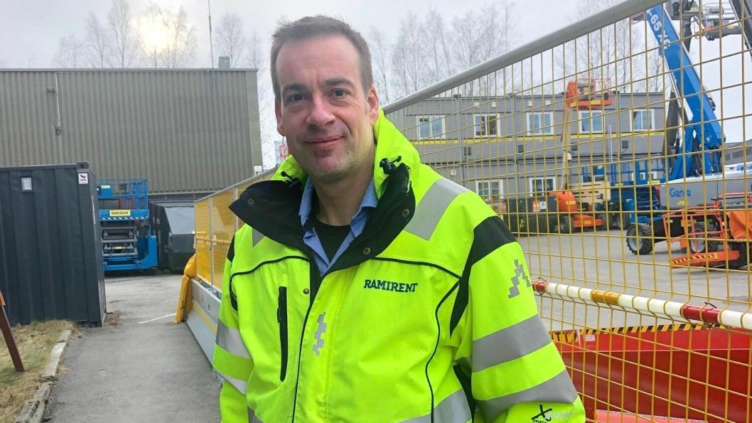 - Dette gjør oss stolte internt samtidig som det er et konkurransefortrinn eksternt både i forhold til kunder og rekruttering, sier HMS-sjef Lars-Morten Rostad i Ramirent Norge.