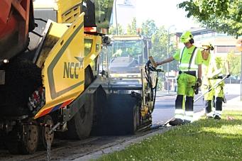 Kontrakt på 22.000 tonn asfalt til NCC