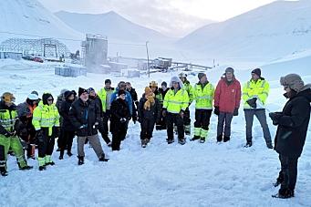 Avslutning av et stykke norsk gruvehistorie