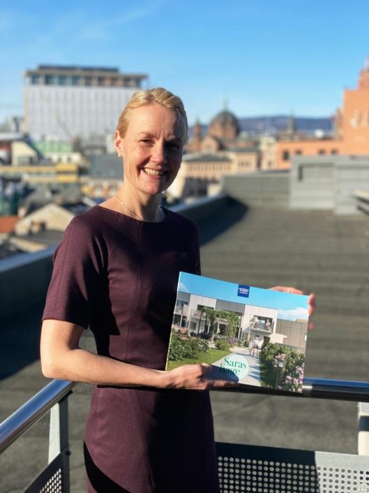 Tonje Marie Haugbro, direktør for boligsalg hos Thon Eiendom.