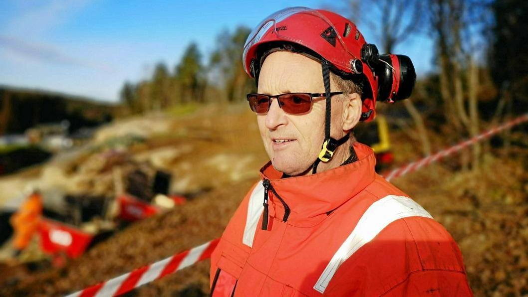 Børre Stensvold.Børre Stensvold har vært brudirektør i Statens vegvesen i 15 år.
