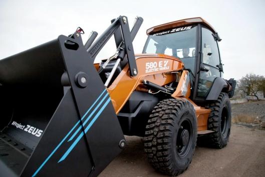 Case 580 EV (også kalt Project Zeus).