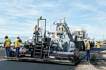 Termisk kartlegging av asfalt