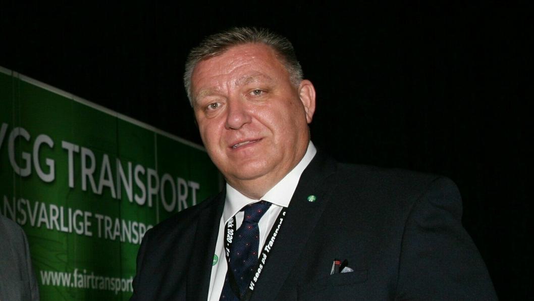 – De minste bedriftene, inkludert transportbedrifter, får ikke tilstrekkelig hjelp fra myndighetene, sier en skuffet NLF-direktør, Geir A. Mo. Foto: Per Dagfinn Wolden
