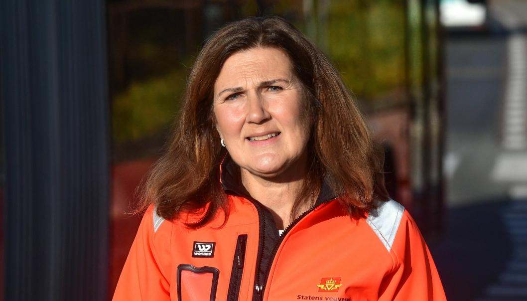 Vegdirektør Ingrid Dahl Hovland.