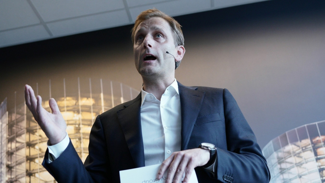 Konsernsjef Petter Hellman i Møller Mobility Group varsler permitteringer i Norge.