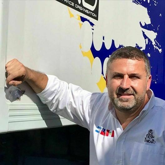 Journalist, lastebileier og organisator av Truckrace i Frankrike, Fabien Calvet, sier at situasjonen for lastebilsjåførene er ille i Frankrike nå.
