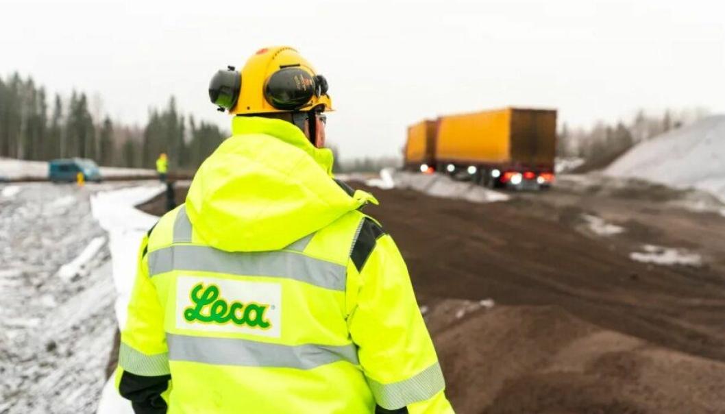 Salg og levering av Leca går som normalt, med visse HMS-tilpasninger, meldes det fra Leca Norge AS.