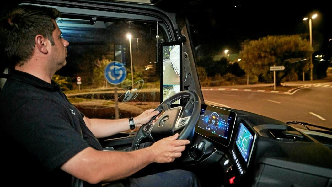 Arkivbilde, sjåføren på bildet har ikke noe  med saken å gjøre.