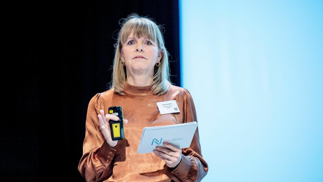 Adm. direkør i Nye Veier, Anette Aanesland, er i ferd med å åpne sin verktøykasse for økonomisk hjelp til entreprenører i en vanskelig tid med mange koronabegrensninger.